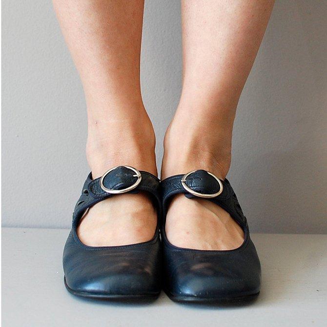 Retro Casual Simple Plain Flat Shoes | Shoes | Zolucky